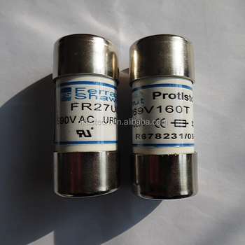 Semiconductor fuse Type fuse FR27UQ69V125T Thermal fuse
