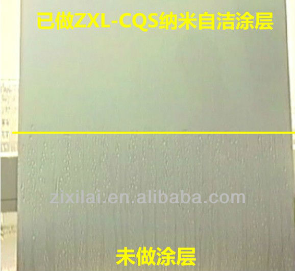 Nano Super hydrophilic self cleaning Coating for building curtain wall