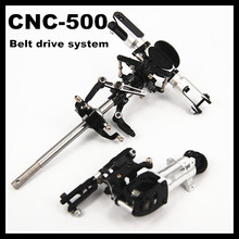 Align 500 CNC Metal Main Rotor Head set + Tail Upgrade Assembled(Belt drive system) Trex Align 500 RC Helicopter Parts
