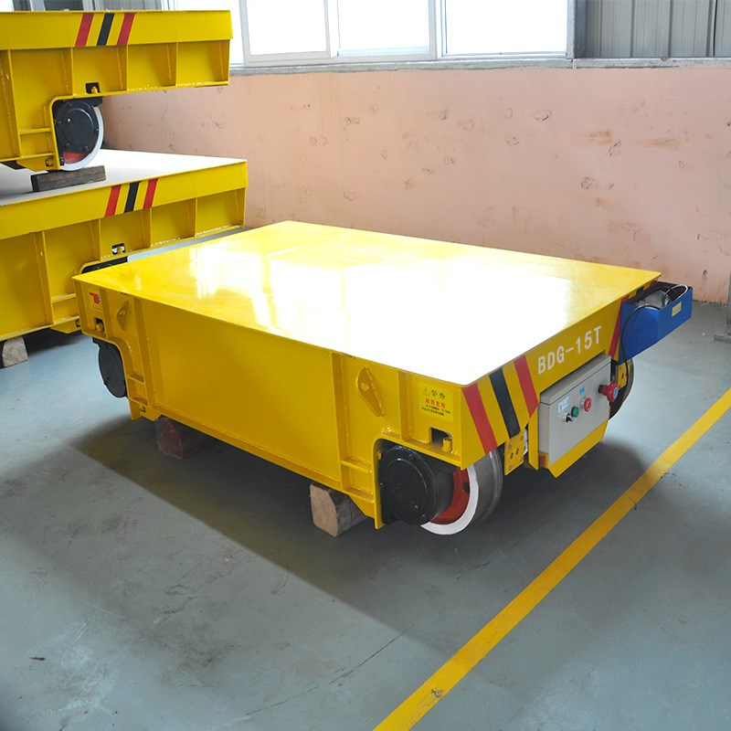 Chinese Rail Guided Flat Car For Container