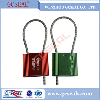 3.0 mm diameter cable wire seal for locking containers
