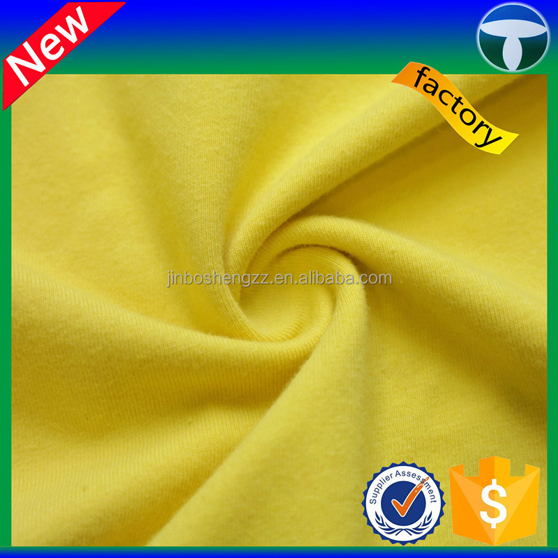 94% cotton 6% elastane fabric for sweat pants fabric