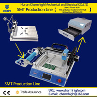 4030 Solder Paste Printer + CHMT28 Pick and Place Machine + Reflow Oven BRTRO-418 Small SMT Production line, Discount!
