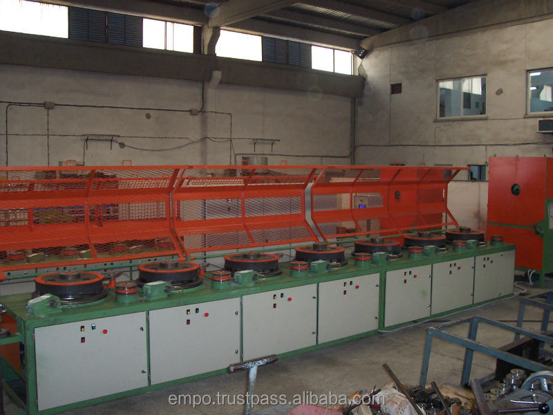 Multi Block Wire Drawing Machine