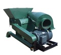 45kw high output wood sawdust hammer mill with cyclone