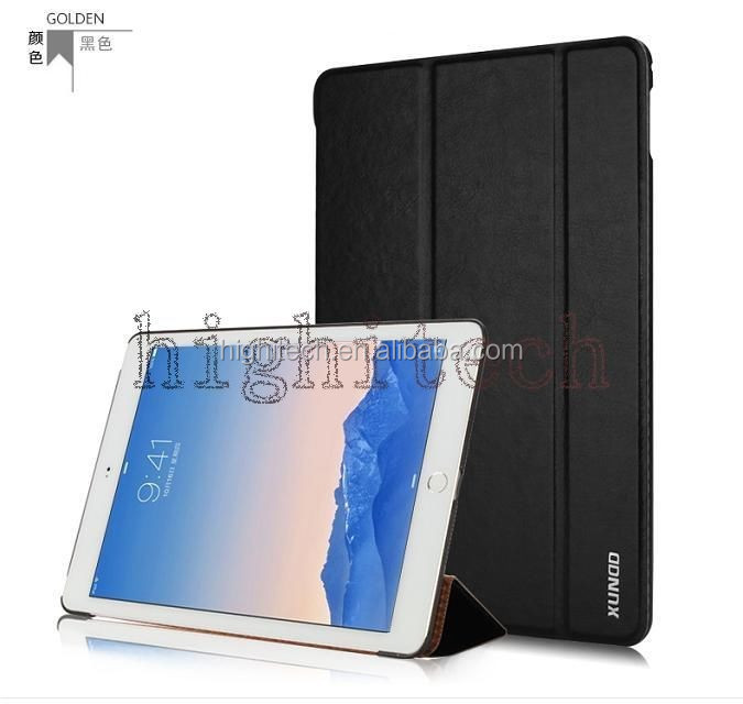 XUNDD For Apple Ipad Air 2 2nd 6 Flip PU Leather case Cover Pouch Smart Stand Air2 6th