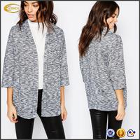 Ecoach high quality fashion Lightweight knit corporate workwear uniform women fashion blazer womens blazer jacket blazer
