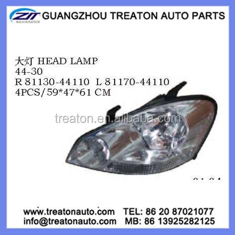 HEAD LAMP 81130-44110 81170-44110 FOR TOYOTA IPSUM 01-03