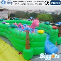 Giant Kids Toys Inflatable Fun City Playground On Sale