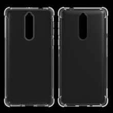 Soft Gel TPU Phone Case For Nokia 8 Shockproof Cover
