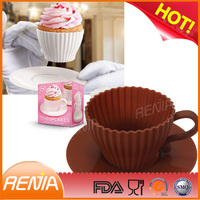 heat resistant food trays and cupcake cases wholesale,silicone cupcake case manufacturer