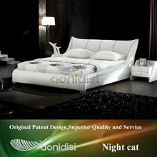 buy high quality crocodile leather bed 1007B