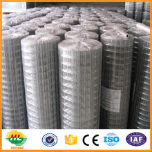Lower price quality G I welded wire mesh with bright finish