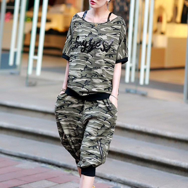 women comfortable sport short sleeveand and ruffle leggings wholesale sweat suits
