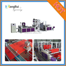 2016 NEW AUTOMATIC NON WOVEN BOX BAG MAKING MACHINE