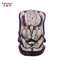 soft and comfortable headrest portable baby car seat for 0-13KG children