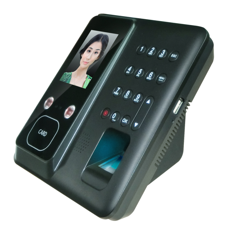 Cheap Price Spanish Language Facial Recognition Device FR602
