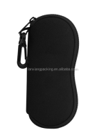 Wholesale Price EVA Case Sunglasses Soft EVA Case Ultra Light Neoprene Zipper Eyeglass EVA Case With Belt Clip