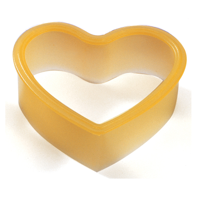 Food grade different shape silicone sandwich/cake cutter