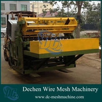 CNC galvanized steel wire mesh large dog fence mesh automatic welding machine and cage mesh welding equipment
