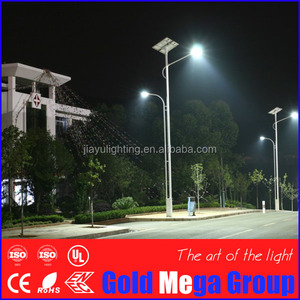 12m galvanized steel double arm LED street lighting pole/lamp post drawing