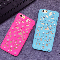 For iPhone 6plus Fashion Girls Cellphone Case/Flower Mobile Phone Case