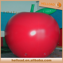 custom made giant inflatable apple balloon with helium gass
