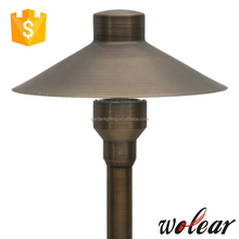 low voltage brass garden light led street light pole