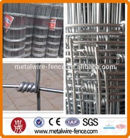 Hot dip galvanized cattle wire mesh fencing