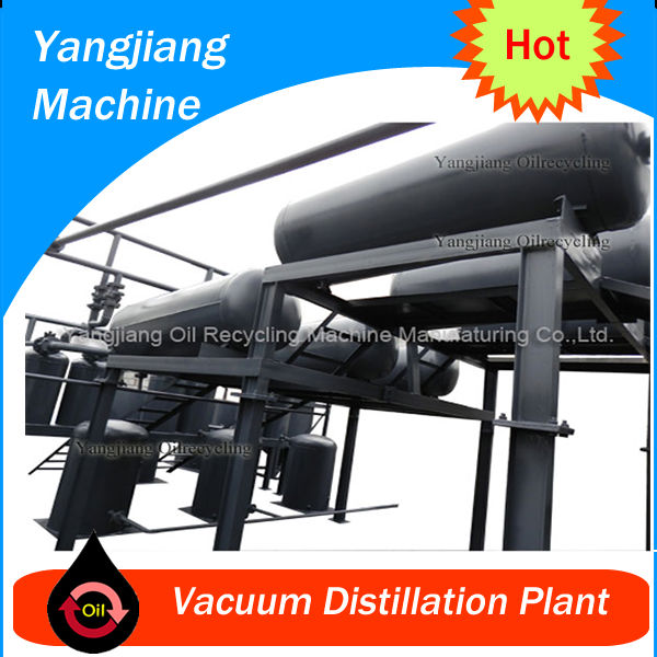 Dark Truck Oil Purification Line YJ-TY-25