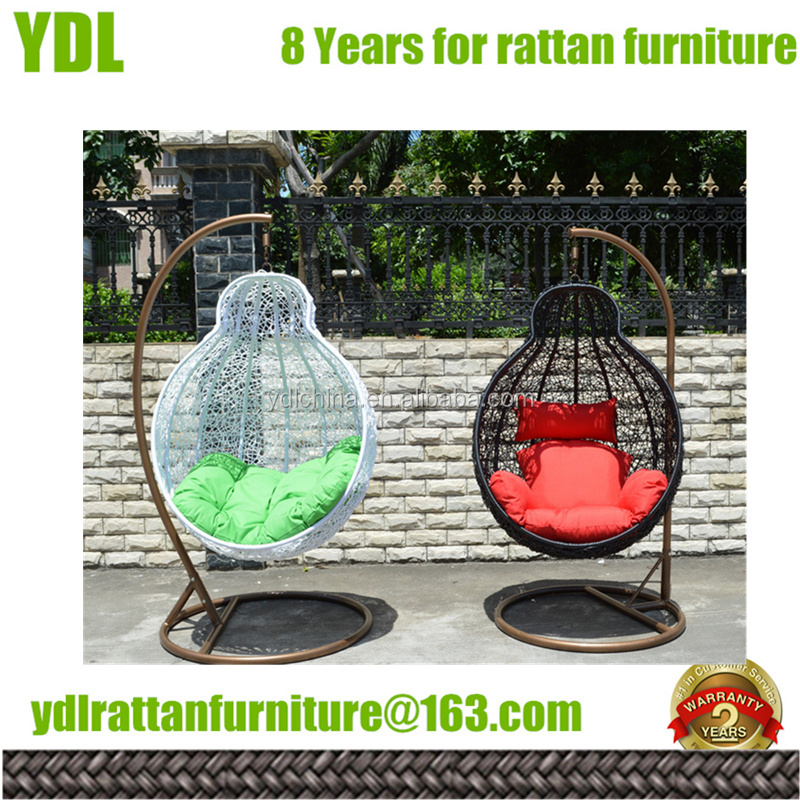 Youdeli Rattan hanging chair bed outdoor patio furniture