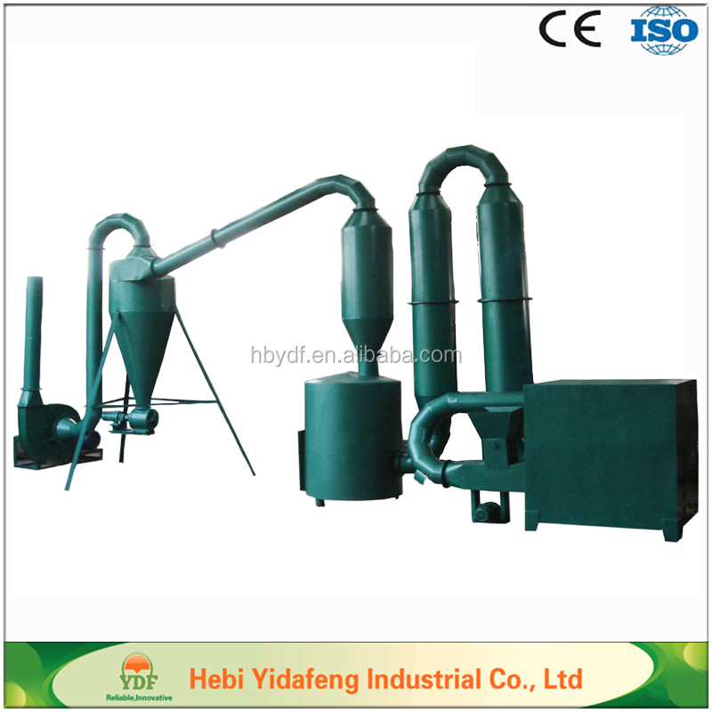 Small Air flow Wood Sawdust Dryer of best price