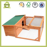 SDR16 Cheap wooden rabbit wire pet cage