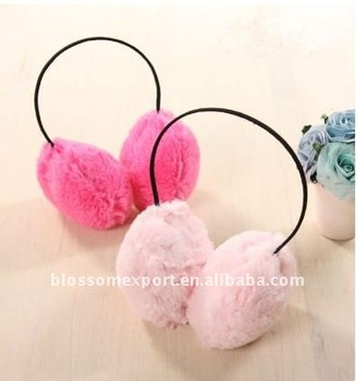 Soild princess baby ear warmer