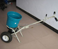 Hot Selling Round Fertilizer Spreader With Air Wheels