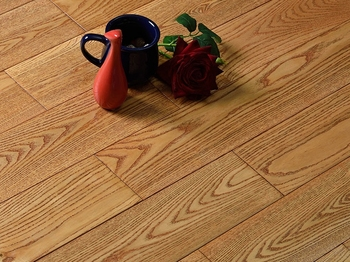 Thick mesquite solid hard wood planks flooring