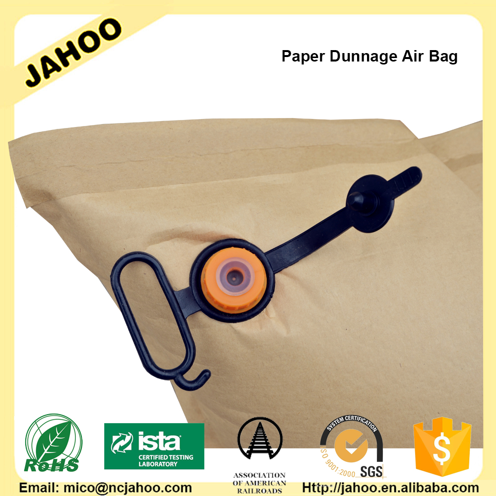 Wholessale Container Kraft Paper Dunnage Air Bag