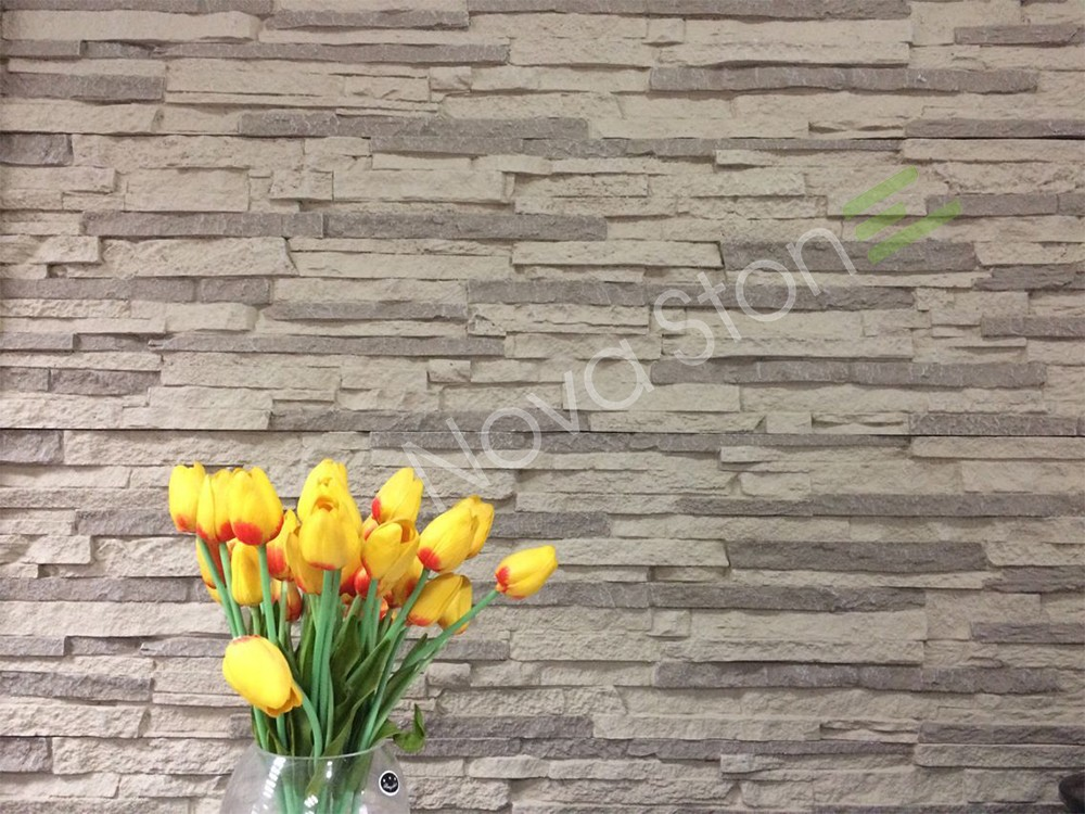 Artificial stone veneer polyurethane Wall Cladding Stone Molds