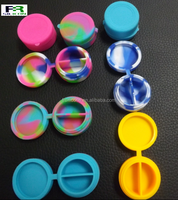 7ml wholesale cheapest silicone non-stick container jars dab wax vaporizer oil container