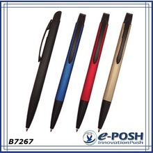 Elegant minimalist design promotional metal ball pen