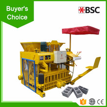 QMY4-45 Sell Well Interlocking Hollow Hydraulic Concrete Cement Paver Egg Laying Block Making Machine