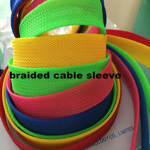 Black flame retardant plastic wire sleeve for wire harness