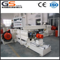 PVC Plastic pelletizing hot cutting extruder granulation machine