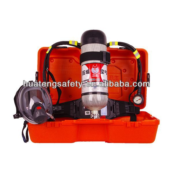 New product 6.8LSCBA with Carbon Fiber Cylinder provide respiratory protection