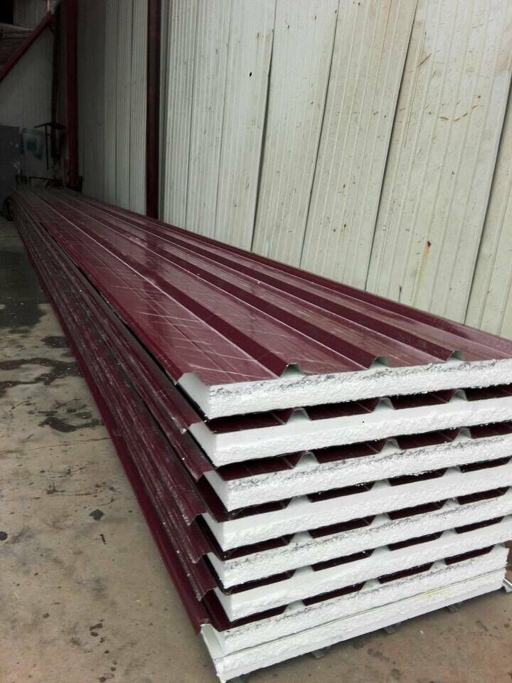 Factory Insulated Sandwich Prices Of Aluminum Roof Panels
