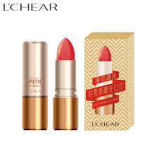 591083 LCHEAR brand Fashion beauty cosmetics Lasting lipsticks light mist matte lipstick ,OEM/ODM Lip Stick