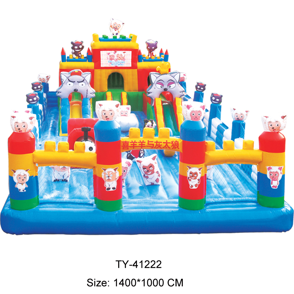 Silken castle inflatable bounce for kid