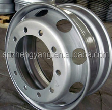 China manufacturer truck/bus tubeless steel wheel rim 22.5*8.25