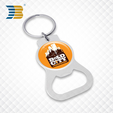Wholesale Metal print logo custom metal Keychain Or key ring