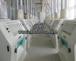 Agricultural Maize Mill Machinery Small Scale Maize Flour Mill With PLC